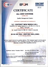 certificate iso 9001 english